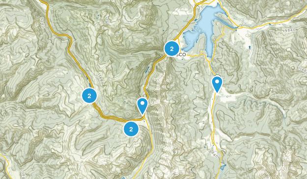 Frisco, Colorado Cross Country Skiing Map