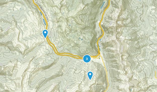 Frisco, Colorado Skiing Map