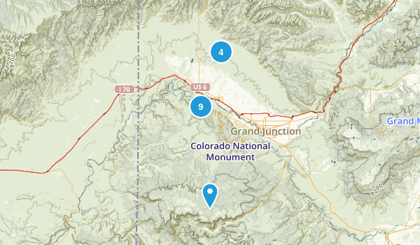 Fruita, Colorado Dogs On Leash Map