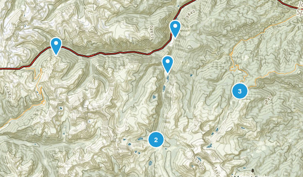 Georgetown, Colorado Hiking Map
