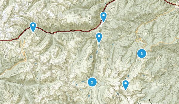 Georgetown, Colorado Hiking Map