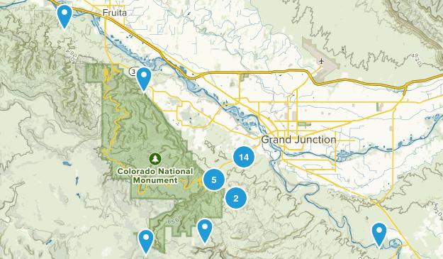 Grand Junction, Colorado Views Map
