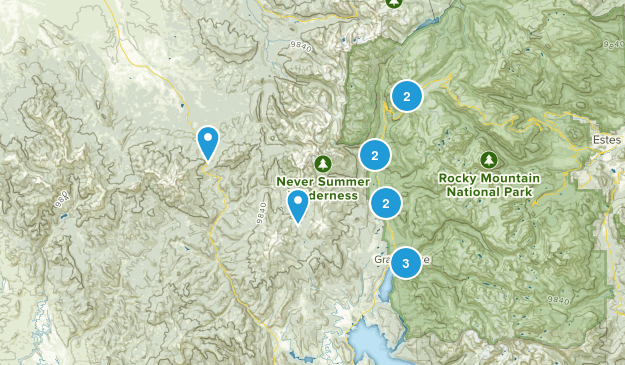 Grand Lake, Colorado Kid Friendly Map