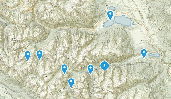 Granite, Colorado Hiking Map
