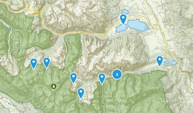 Granite, Colorado Views Map