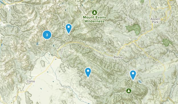 Grant, Colorado Hiking Map