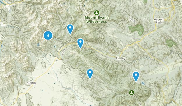 Grant, Colorado Views Map