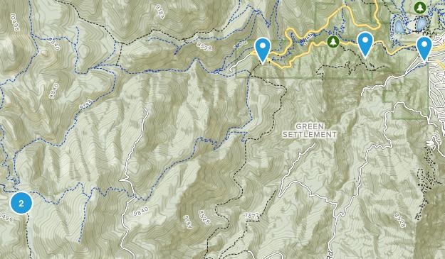 Green Settlement, Colorado Birding Map