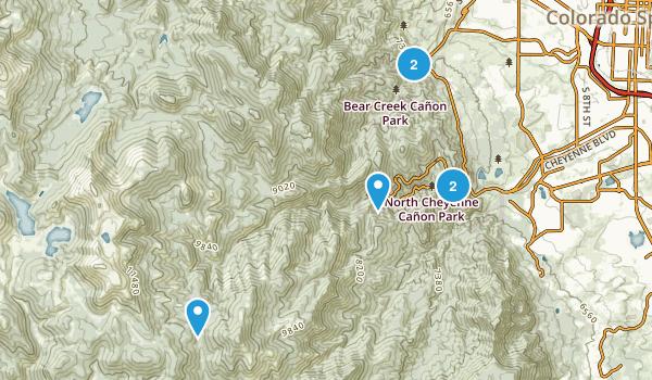 Green Settlement, Colorado Nature Trips Map