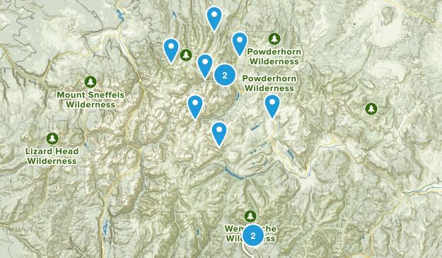 Lake City, Colorado Camping Map