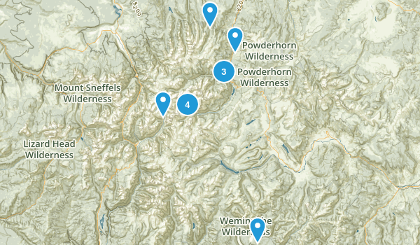 Lake City, Colorado Dog Friendly Map
