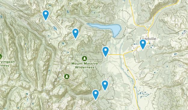 Leadville, Colorado Dog Friendly Map