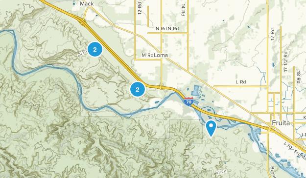 Loma, Colorado Birding Map