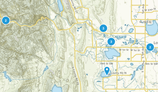 Loveland, Colorado Nature Trips Map
