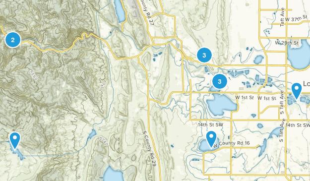 Loveland, Colorado Views Map