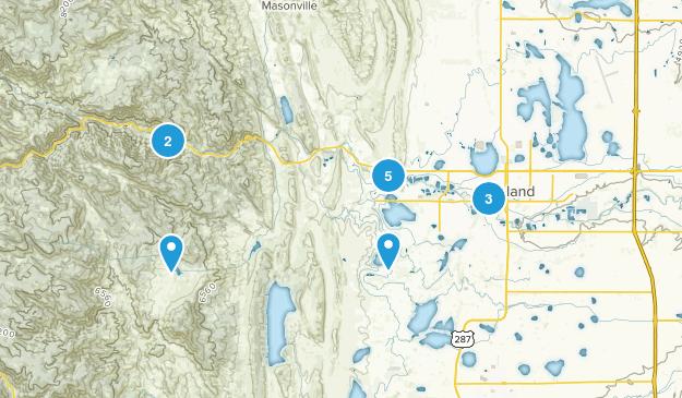 Loveland, Colorado Walking Map