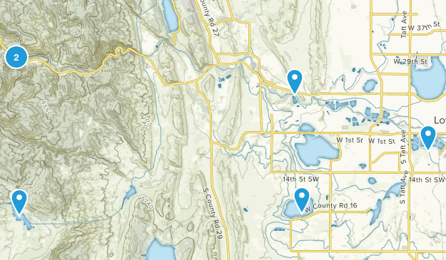 Loveland, Colorado Wildlife Map