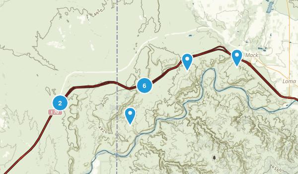 Mack, Colorado Nature Trips Map