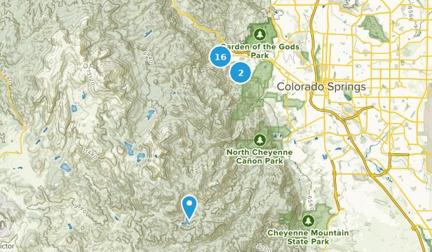 Best Views Trails Near Manitou Springs Colorado Alltrails