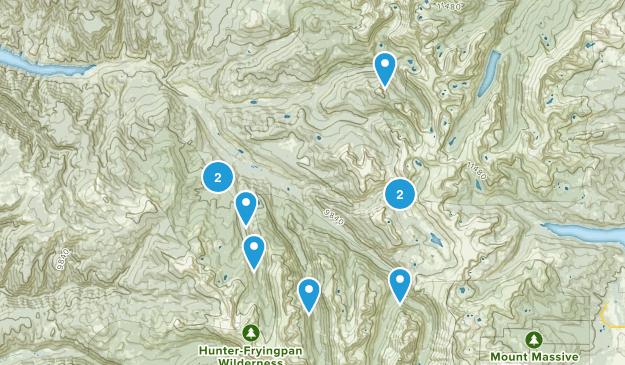 Meredith, Colorado Hiking Map