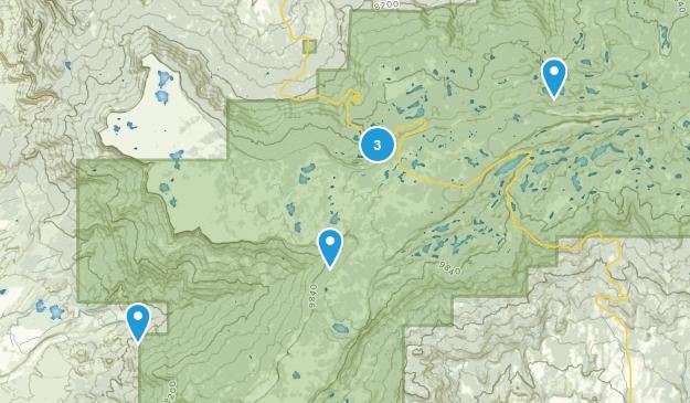 Mesa, Colorado Lake Map