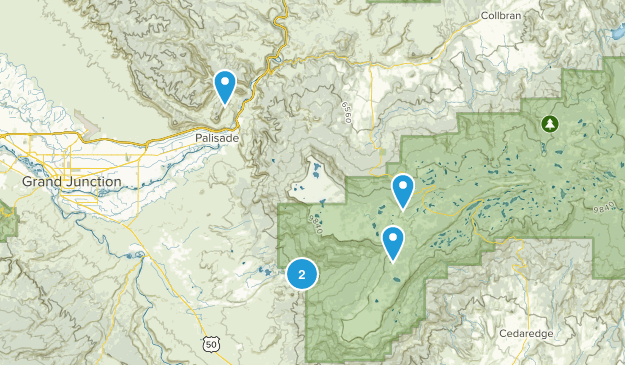 Mesa, Colorado Wildlife Map