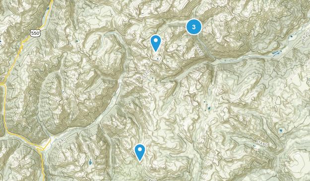 Middleton, Colorado Hiking Map