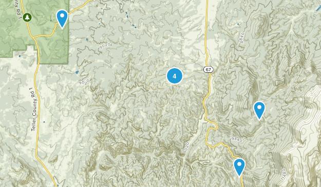 Midland, Colorado Views Map