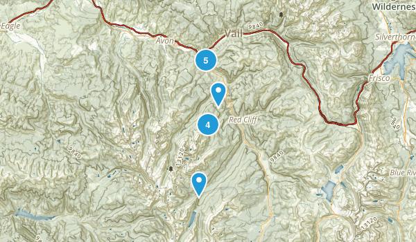 Minturn, Colorado Nature Trips Map