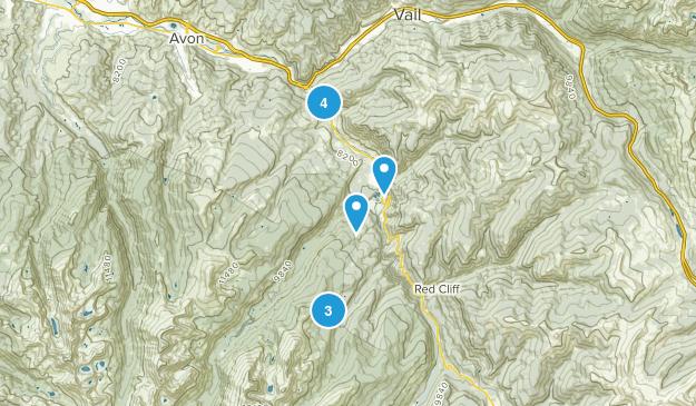Minturn, Colorado Trail Running Map