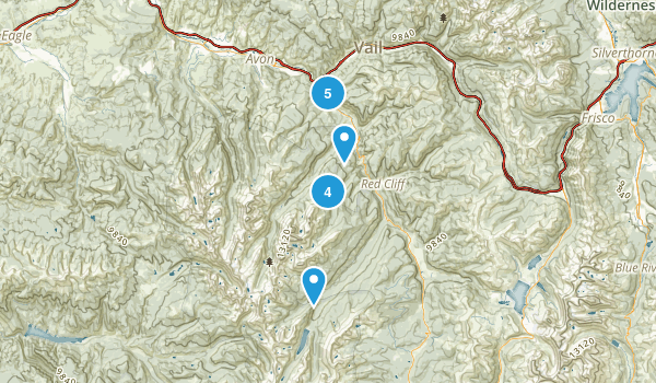 Minturn, Colorado Walking Map