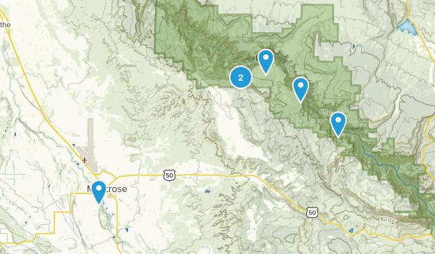 Montrose, Colorado River Map