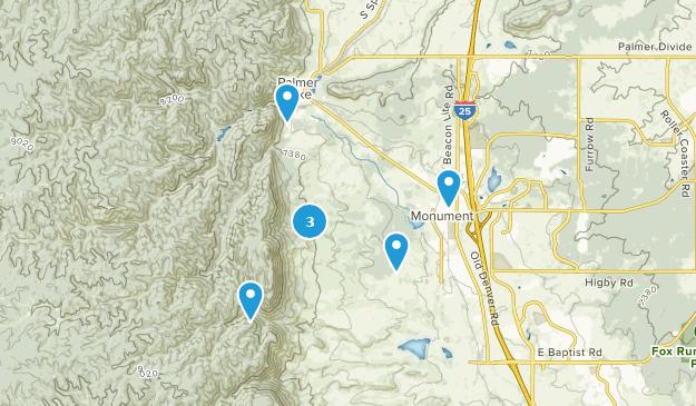 Best Trail Running Trails near Monument, Colorado | AllTrails