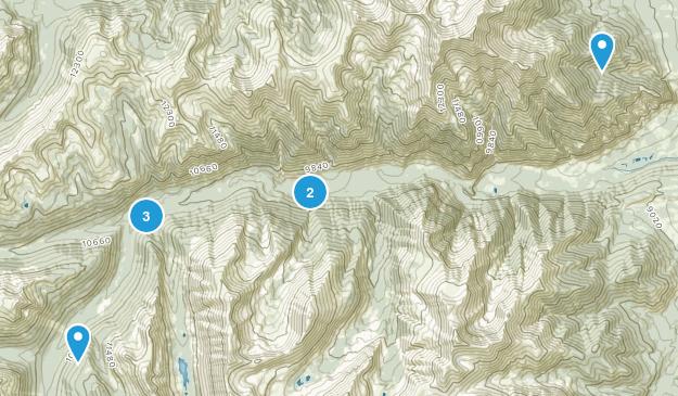 Nathrop, Colorado Off Road Driving Map