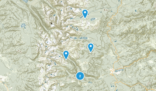 Best fly fishing trails near nederland colorado 427 for Colorado fly fishing map