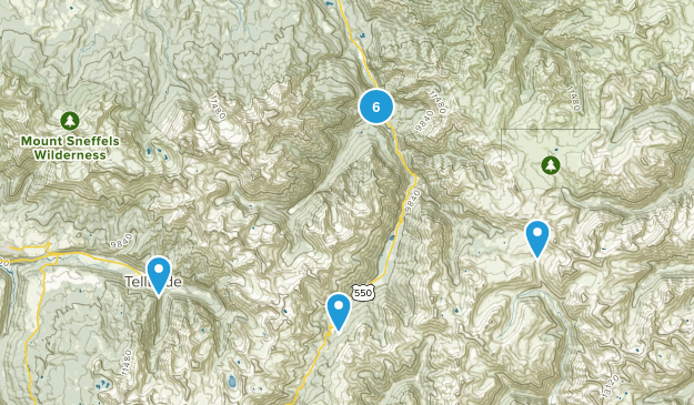 Ouray, Colorado Kid Friendly Map