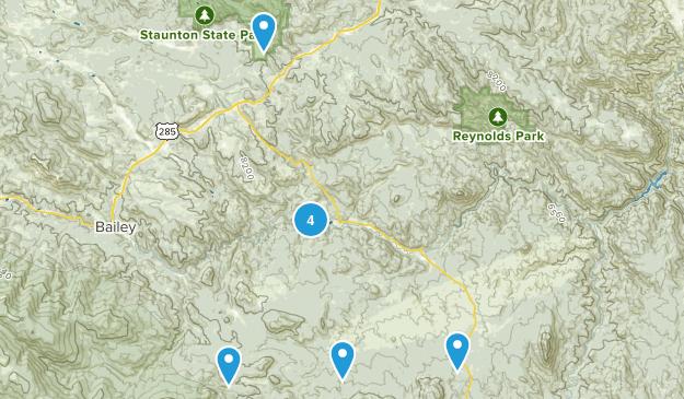 Pine, Colorado Nature Trips Map