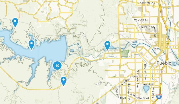 Pueblo, Colorado Birding Map