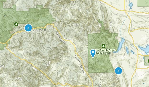 Rocky, Colorado Wildlife Map
