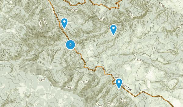 Rye, Colorado Walking Map