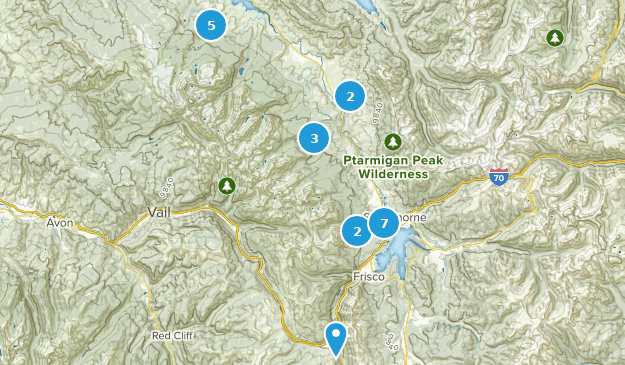 Silverthorne, Colorado Bird Watching Map