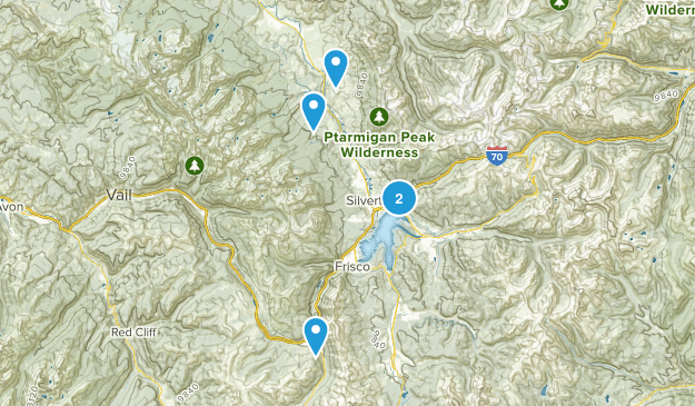 Silverthorne, Colorado Dog Friendly Map