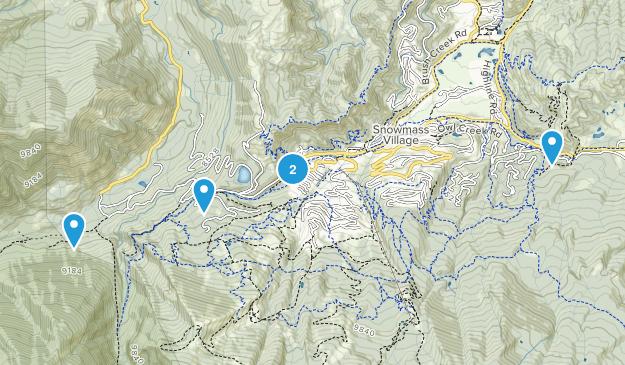 Snowmass Village, Colorado Birding Map