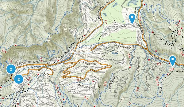 Snowmass Village, Colorado Kid Friendly Map