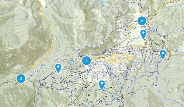 Snowmass Village, Colorado Wildlife Map