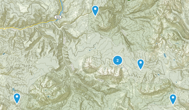Somerset, Colorado Birding Map