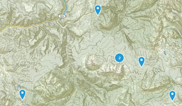 Somerset, Colorado Birding Map