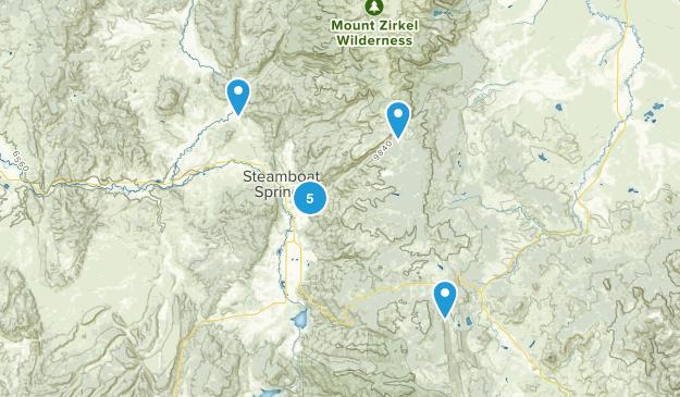 Steamboat Springs, Colorado Kid Friendly Map