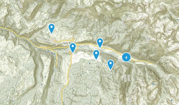 Telluride, Colorado Horseback Riding Map