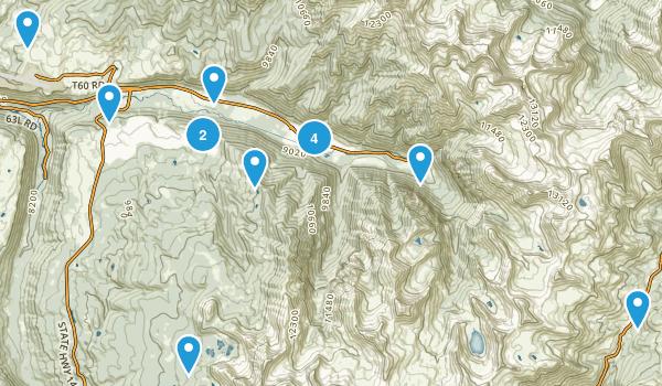 Telluride, Colorado Trail Running Map